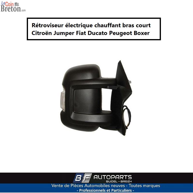 Retroviseur Elect Droit Bras Court PEUGEOT Boxer 2.2 Hdi A partir de 2006