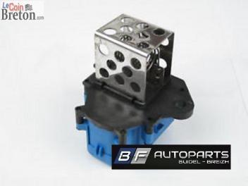 Resistance commande de chauffage climatisation Citroen C4 Peugeot 307